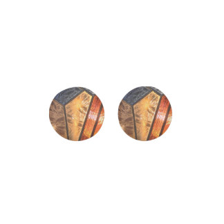 Vintage Stained Glass Effect Earrings