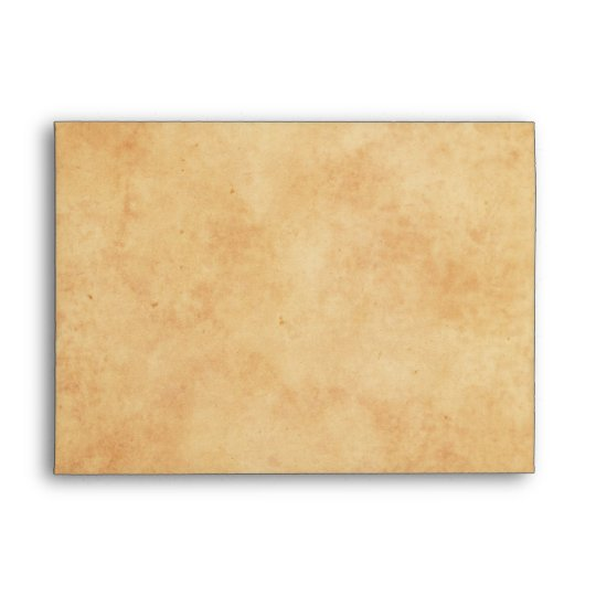 Vintage stained old paper look A7 envelopes