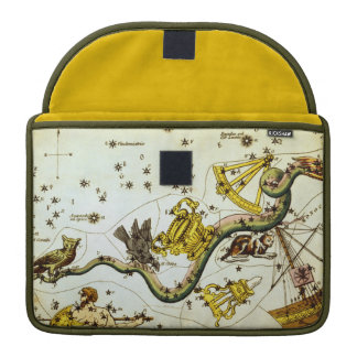 Vintage Star Constellation Astronomical Chart/Map Sleeve For MacBook Pro