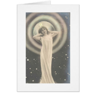 Vintage Star Goddess cards