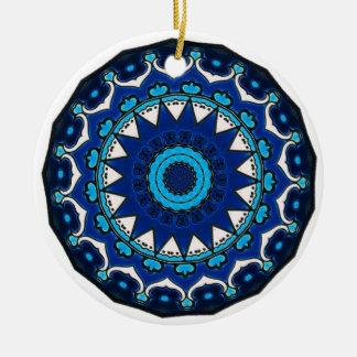 Vintage star motif  Ottoman Turkish tile design Ceramic Ornament