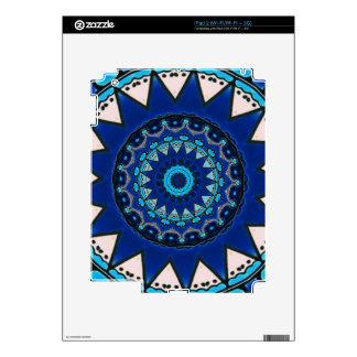 Vintage star motif  Ottoman Turkish tile design Skins For iPad 2