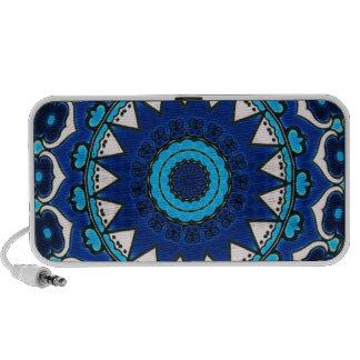 Vintage star motif  Ottoman Turkish tile design Mini Speaker