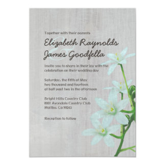 Vintage Star of Bethlehem Wedding Invitations