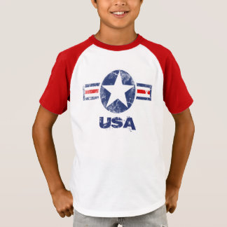 Vintage Star Patriotic USA T-Shirt