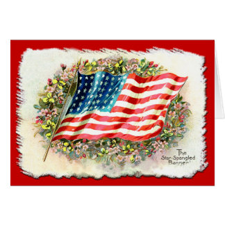 Vintage Star Spangled Banner Products Card