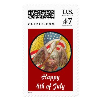 Vintage_Star Spangled Banner Stamp