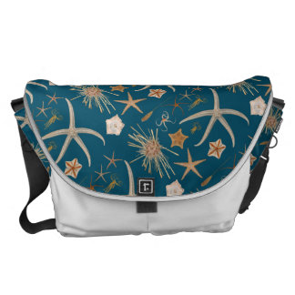 Vintage Starfish Courier Bag