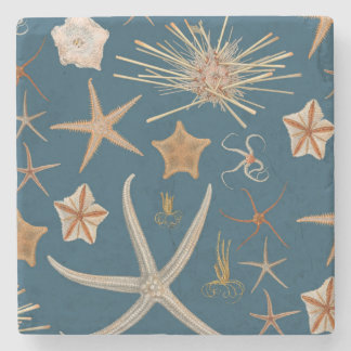 Vintage Starfish Stone Coaster