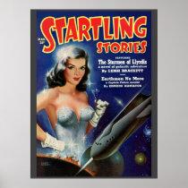 "Vintage ""Startling Stories"" pulp comic"