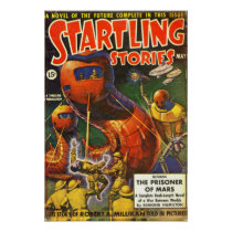 Vintage Startling Stories Pulp Science Fiction