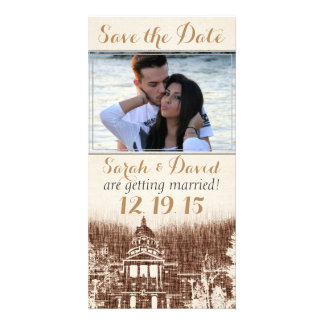 Vintage State Capitol Pride Save the Date Card