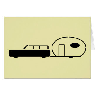 Vintage Station Wagon and RV Trailer Cards