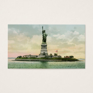 "Vintage ""Statue of Liberty"" Business Card"