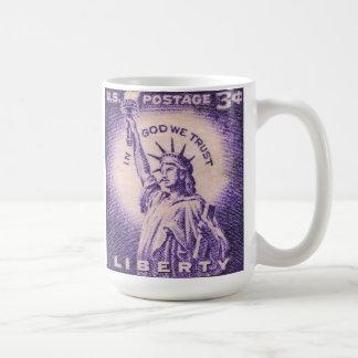 Vintage Statue of Liberty Mugs