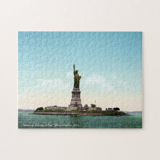 Vintage Statue of Liberty, New York 1905 Puzzle