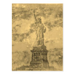 Vintage Statue Of Liberty New York #2 - Postcards