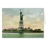 """Vintage """"Statue of Liberty"""" Poster. New York. Card"""