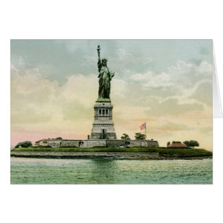 "Vintage ""Statue of Liberty"" Poster. New York. Cards"