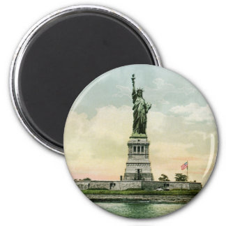 "Vintage ""Statue of Liberty"" Poster. New York. Magnet"