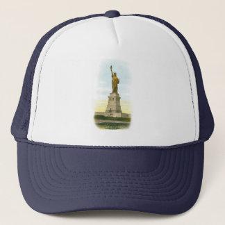 Vintage Statue of Liberty Trucker Hat