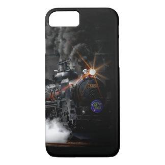Vintage Steam Engine Black Locomotive Train iPhone 8/7 Case