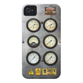 Vintage Steam Engine High Voltage iPhone 4 Cases