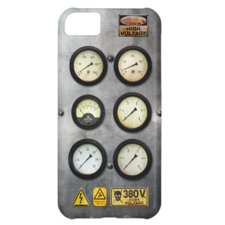Vintage Steam Engine High Voltage iPhone 5C Cover
