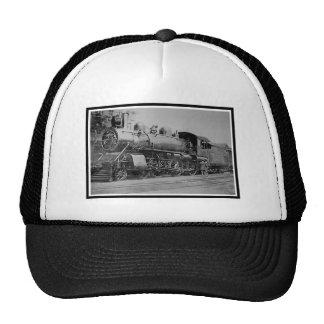 Vintage Steam Engine Locomotive Railroad Trucker Hat