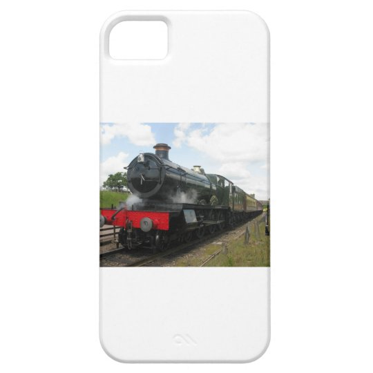 Vintage steam engine, old railway train iPhone SE/5/5s case