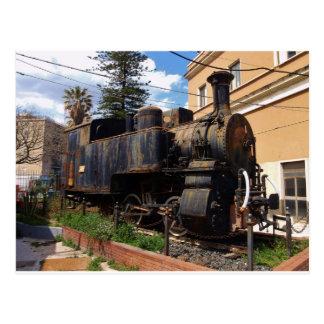 Vintage Steam Locomotive Postcard