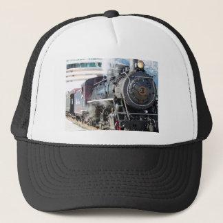 Vintage Steam Locomotive Trucker Hat