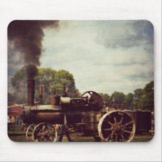 Vintage Steam Power, Vintage Tractor Mouse Pad