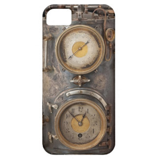 Vintage Steam Punk Clock iPhone SE/5/5s Case
