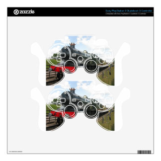 Vintage steam railway train skins for PS3 controllers