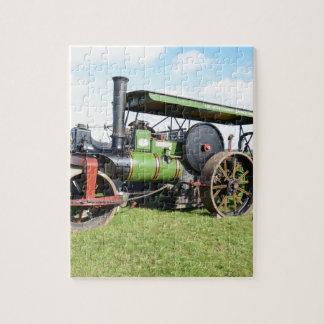 Vintage Steam Roller Puzzles
