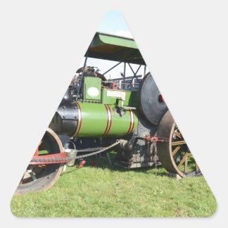 Vintage Steam Roller Sticker