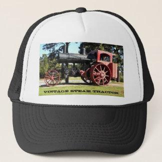 Vintage Steam Tractor Trucker Hat