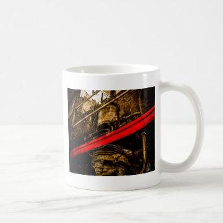 Vintage Steam Train - Air Pump Coffee Mug