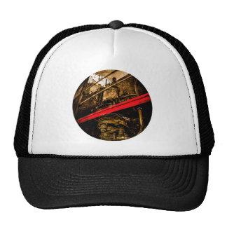 Vintage Steam Train - Air Pump Trucker Hat