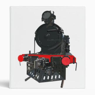 Vintage Steam Train Binder