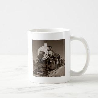 Vintage Steam Train Coffee Mug