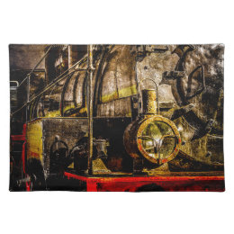 Vintage Steam Train - Old Timer Placemat
