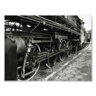 Vintage Steam Train Photo Print
