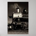 Vintage steam train posters
