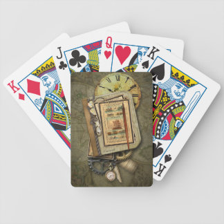 Vintage Steampunk Bicycle® Playing Cards