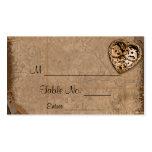 Vintage Steampunk Bride Wedding Place Cards