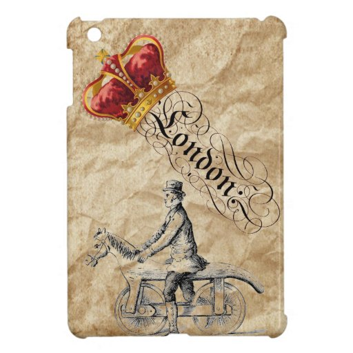 Vintage Steampunk British Chic London Case For The iPad Mini
