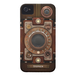 Vintage Steampunk Camera #1C iPhone 4 Covers