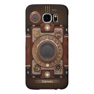 Vintage Steampunk Camera #1C Samsung Galaxy S6 Case